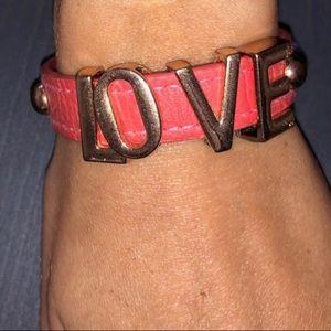 BCBGeneration Jewelry - BCBG leather bracelet